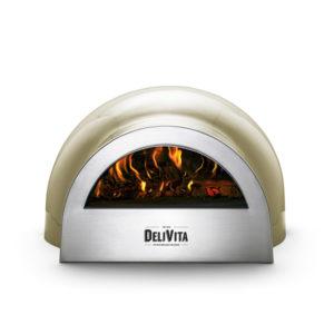 Delivita Olive Green pizza oven