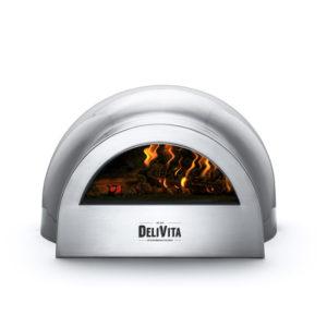 Delivita Hale Grey pizza oven