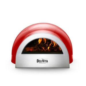 Delivita Chilli Red pizza oven