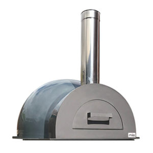 The Mila 60 in grey pizza oven