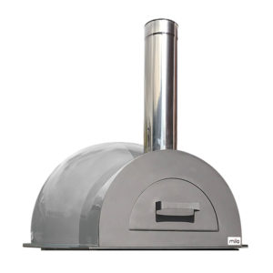 The Mila 60 in light grey pizza oven